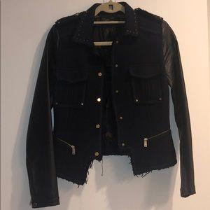Motorcycle style jacket